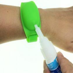 Новые предстоящие силиконового герметика дезинфекции Sanitizer браслет с более высокой цене