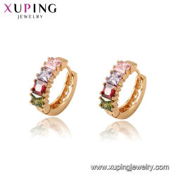 Шпильки в 18K Gold-Plated элегантный Earring