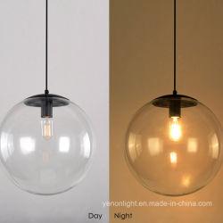 Bola de cristal lámpara de araña de la luz colgante