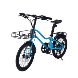 20 pulgadas utiliza bicicletas eléctricas bicicletas eléctricas azul de la ciudad de la suciedad para adultos