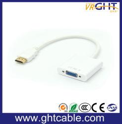Bester Mann des Verkaufs-HDMI VGA-zum weiblichen videokabel-Netzkabel-Konverter-Adapter 1080P