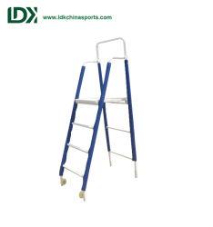 Deportes de equipo portátil de acero plegado árbitro Stand/Árbitro silla con ruedas