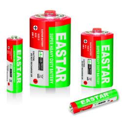 1,5V R20/D o invólucro de PVC da bateria superior metálica/ Parte superior de plástico com Cabeça vermelha pode OEM