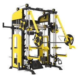 Popular diseño multifuncional Smith máquina fuerza Body building Machine Jemy Smith gimnasio en casa Smith máquina