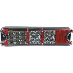10-80V Auto вилочный погрузчик красный/желтый/Clear светодиодные задние фары погрузчика