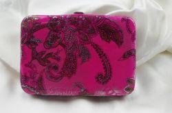 패션 클래식 프린트 프레임 플랫 지갑(FW-E-1)