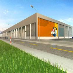 Direktor Clear Span Stahlgewebe Gebäude für Lagerhaus