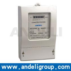 Trois Phase kilowatt heure compteur électronique(DTS480)
