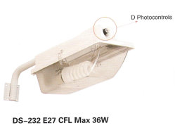 Стрит (DS-232) E27 CFL 36W