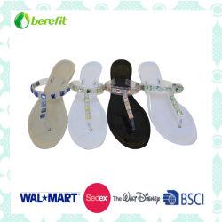 Красочные ПВХ женских желе обувь