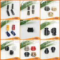 Bouchon de cordon en nylon ou de basculement pour les vêtements, sacs à main et les chaussures KS3040#
