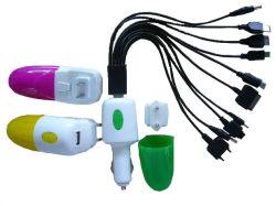 Multiplug автомобиля и дорожное зарядное устройство (TC168-12В1)
