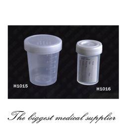 De medische Beschikbare Kop van Containe van de Urine voor Voor éénmalig gebruik met ISO 12485