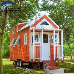Moderne Farben-vorfabrizierte helle kleine Haus-Stahlmöbel mit Schlussteil