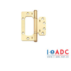 高品質は2ボールベアリングが付いているドアのハードウェアの鉄のヒンジの潜水艦の母ドアヒンジロックを留める