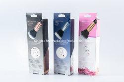 Храните удлинитель волос уход за кожей упаковки косметической подарочные коробки бумаги с подвесной кронштейн