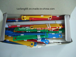 Пластиковые и металлические молнии бумаги