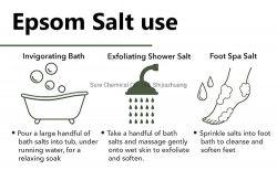 ボディスクラブのための国民の鉱物 Epsom 塩は穏か