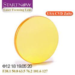 StartNow USA Znse CVD عدسات تركيز الليزر 20 مم 19 18 12 عدسة ضبط بؤري