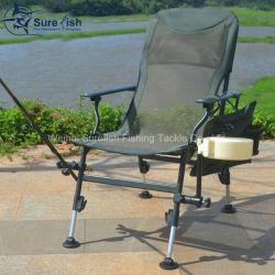 Camoカラー足のFoldable屋外のコイ釣椅子