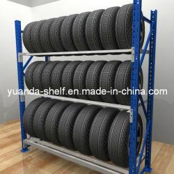 Magazzino camion pneumatico stoccaggio usato rack in metallo