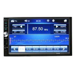 preço de fábrica MP5 2 DIN 7 Polegada Áudio estéreo Auto Navegação Electronics Leitor de DVD Vídeo de carro