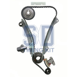 自動車のエンジンのタイミングの鎖日産はMr20de T31 2.0L Dohc 16V 2007-2010年をX引きずる