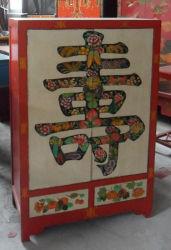 De antieke Hand die van het Meubilair Houten Kabinet Lwb805 schildert