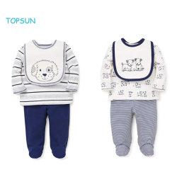 3 PCS pasgeboren jongen kleding Unisex lange mouw outfits Baby Cadeaus lakensets