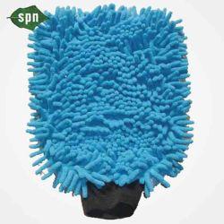 Speciale non tessuti Stampa Logo peso leggero Spunlace Dry Facial antibatterico Disinfettare i panni morbidi e umidi guanto per uso domestico con un assorbente resistente