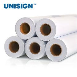 La impresión digital en vinilo autoadhesivo PVC 120GM/140gsm con pegamento blanco