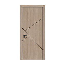 Tür des moderner Entwurfs-Innenschlafzimmer-WPC mit Rahmen