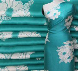 Georgette de alta qualidade Satin Brocade Fabric