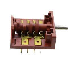 De roterende Schakelaar van de Hittebestendigheid van de Omwenteling van de Klok van de Schakelaar van de Selecteur Wijze 16A 250V Mechanische Roterende voor Oven met of zonder Knop