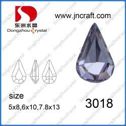 Dz-3018 Goutte d'eau de l'élément de fantaisie en cristal de pierre pour la fabrication de bijoux