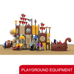 Gran personalizado kids juguetes Exterior/Interior Deslice el equipo de Preescolar Playground Parque de Atracciones