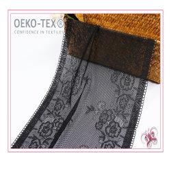 El nylon spandex Trim Puntilla Puntilla perfecta tela para la ropa interior