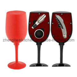 Verre à vin Bouteille en forme de jeu d'ouvreur (608011-B)