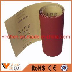 Arena abrasiva Rollo de papel esmeril/rollo/rollos de tela abrasiva