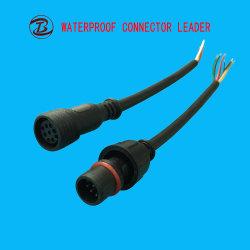 Hoogwaardige 7pin 8pin 9pin LED Strip Light-aansluiting en -kabel