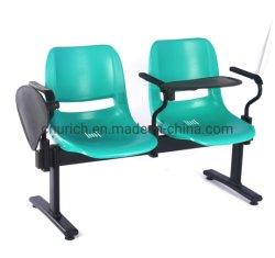 U-M2002 Silla de banda de plástico para el público zona de espera y el Hospital con la escritura junta