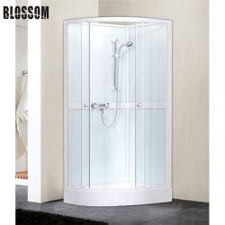 Prix compétitif verre gris cabine de douche complète/chambre/boîtier (BLS-9708)