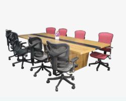 Premium New-Tech Rentable mesa de conferencia o reunión de la oficina de recepción -PS-1617