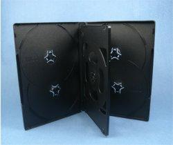 DVD Dekking 14mm van het Geval DVD van de Doos DVD voor Zwarte 6