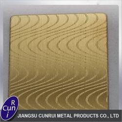 Ácido de Aço Inoxidável Personalizada Placa gravada para materiais de construção
