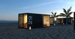 China Modular Fornecedor Contêiner Hotel na praia de areia no Havaí