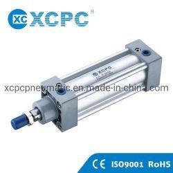 Hersteller-Doppelt-Welle-Kolben-Standardzylinder SID-ISO6431 pneumatischer