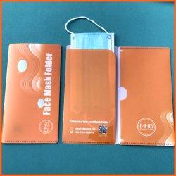 2 poches Dossier Version masque facial de plastique