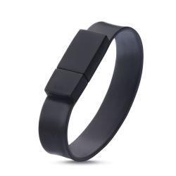 Bracelet en silicone Memory Stick™ USB avec logo personnalisé