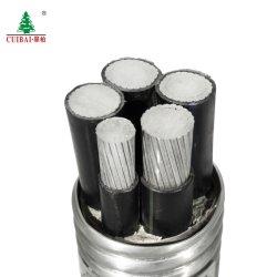 Métro Yjlv22 cuivre aluminium Ruban de mica basse tension nominale de transmission résistant Fire-Proof LV isolation en polyéthylène réticulé à gaine câble d'alimentation du câble de masse